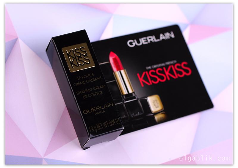 Губная помада Guerlain KissKiss 325 Rouge Kiss