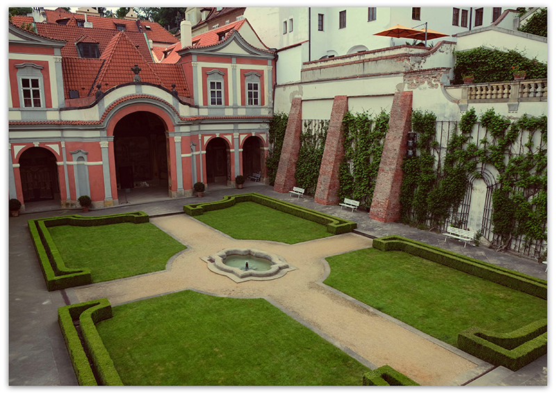 Gardens of the Prague Castle, Прага, Пражский град, дворцовый сады