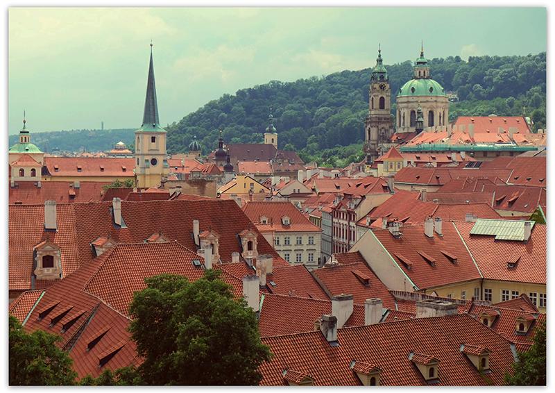 Gardens of the Prague Castle, Прага, Пражский град, дворцовый сады