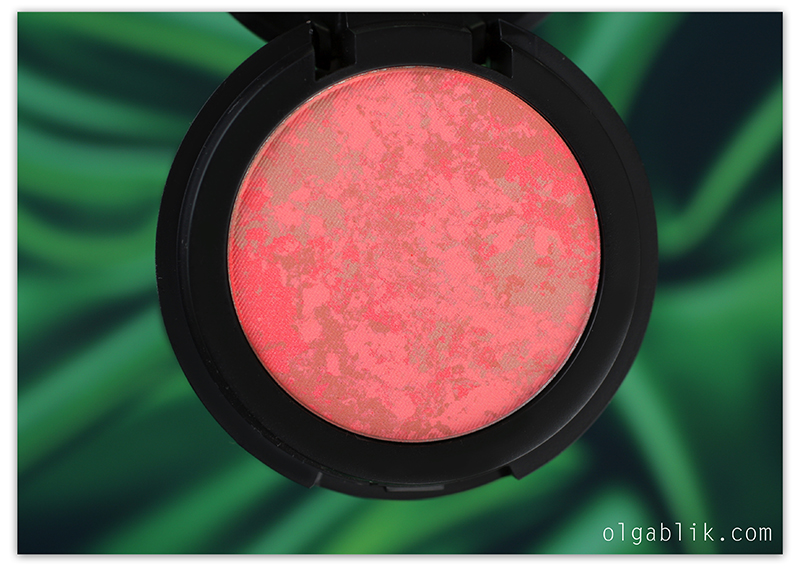 Make Up Store Marble Blush Pernice, reviews, photos, swatches, отзывы, фото, свотчи, Румяна для лица