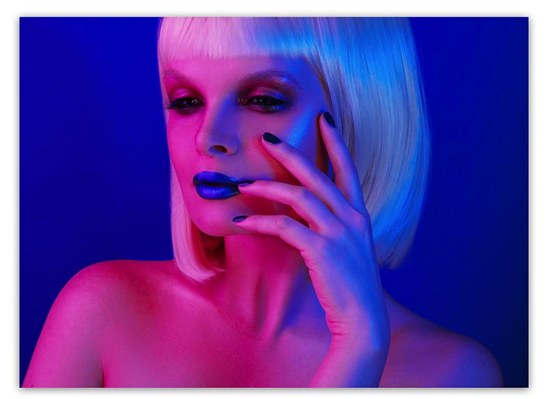 """Пошаговый макияж в стиле """"Пятый элемент"""" образ Лилу"""