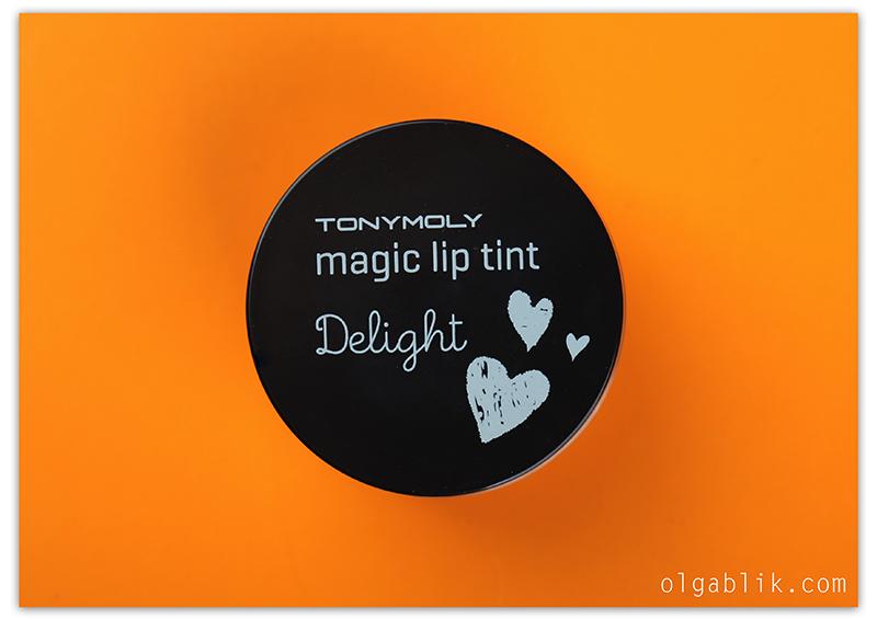 Тинт для губ Tony Moly Delight Magic Lip Tint #1 Strawberry, Отзывы, Фото, Тони Моли