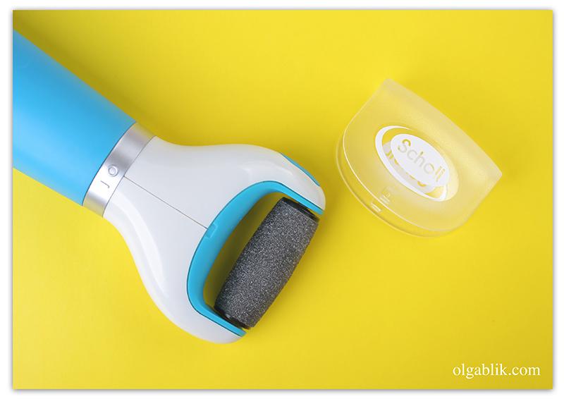 Scholl Velvet Smooth, Электрическая роликовая пилка для ногтей, Отзывы, Фото, Где купить