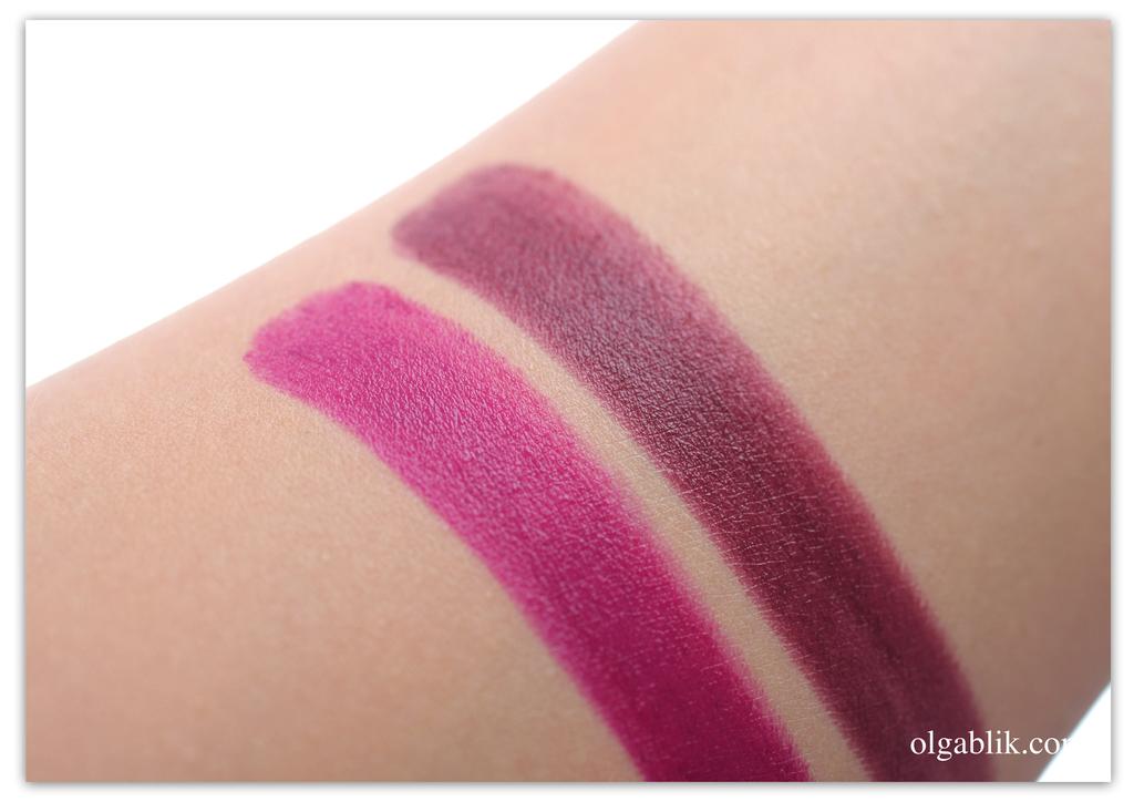 Make up Factory Magnetic Lips semi-mat long-lasting, Помада для губ, Вишневый цвет помады, Фото, Отзывы