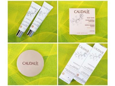 Caudalie: минеральная пудра и флюид для лица. Отзывы. Фото. Свотчи