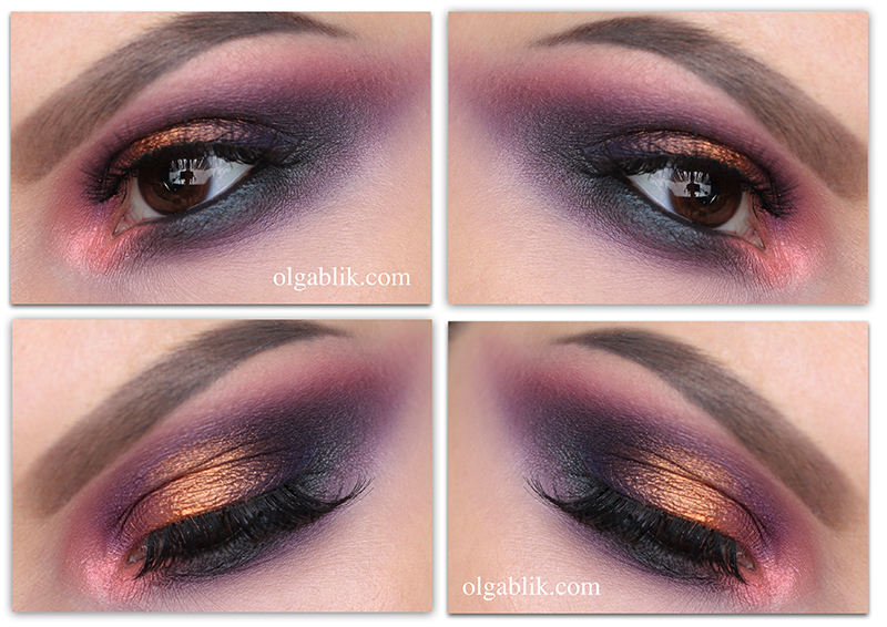 Colorful Smokey Eyes Makeup Tutorial-1