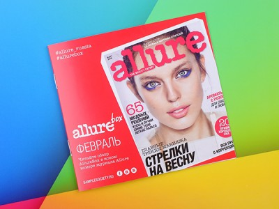 AllureBox — Sample Society: февраль