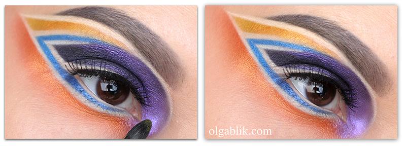 Как наносятся пигменты в макияже