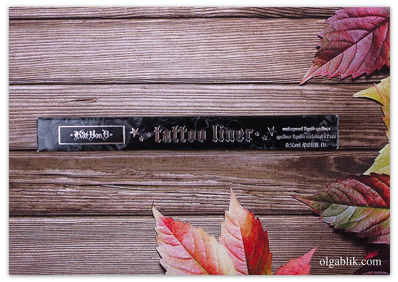 Kat Von D Tattoo Liner - Trooper, Доставка товаров из США, Бандеролька, Отзывы, Фото, Косметика из США