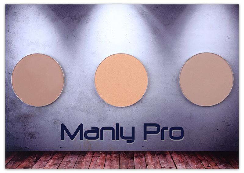 Румяна матовые Manly PRO