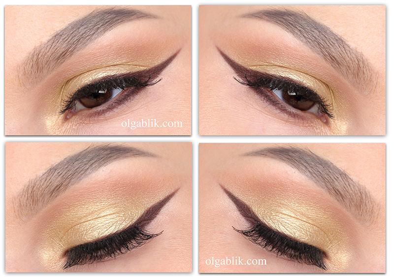 Urban Decay Gwen Stefani Eyeshadow Palette- Makeup Tutorial, Пошаговый макияж, Фото