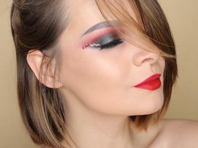 День святого Валентина: макияж глаз