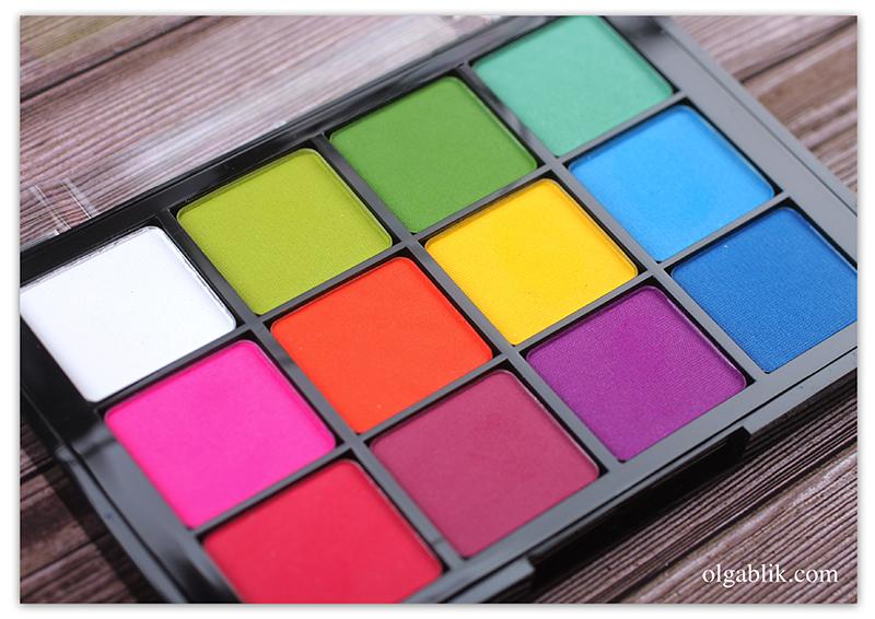 Viseart Editorial Brights Palette 08, Доставка товаров из США, Бандеролька, Отзывы, Фото, Косметика из США
