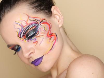 Creative Makeup — работа одной кисти