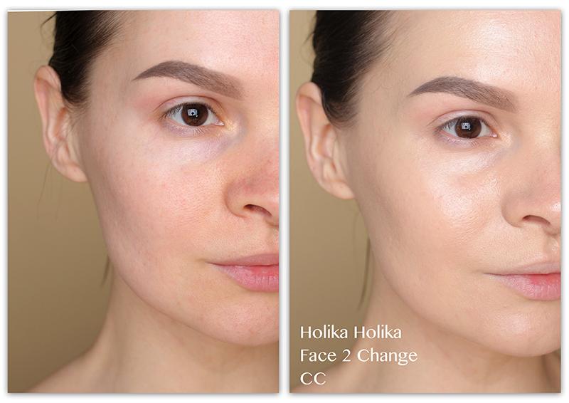 Holika Holika Face 2 Change CC, Отзывы, Фото, СС крем, Фото
