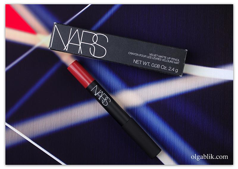 NARS Velvet Matte Lip Pencil Dolce Vita - отзывы и фото