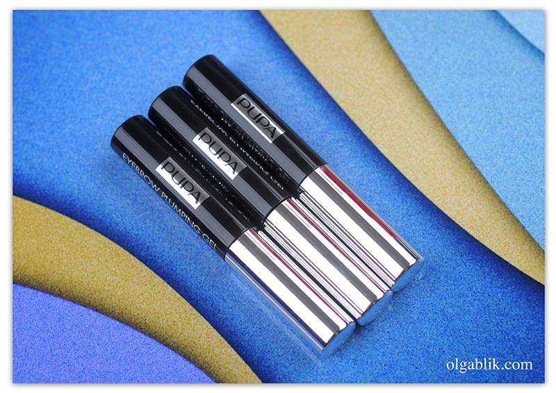 Pupa Eyebrow Plumping Gel, гель для бровей, Пупа, Отзывы, Фото
