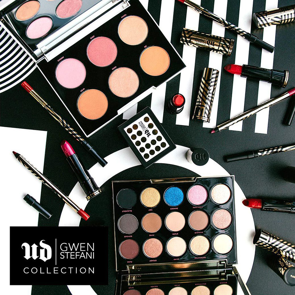 Gwen Stefani Urban Decay Complete Makeup Collection