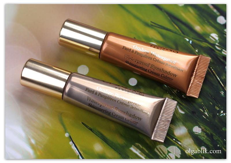 Clarins Waterproof Cream Eyeshadow, Кремовые тени, Отзывы, Фото, Кларанс