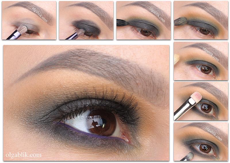 Dream Minerals Makeup Look, Пошаговый макияж, Фото, Для карих глаз