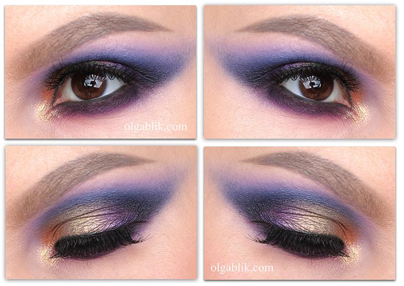 Как сделать макияж глаз голубого цвета