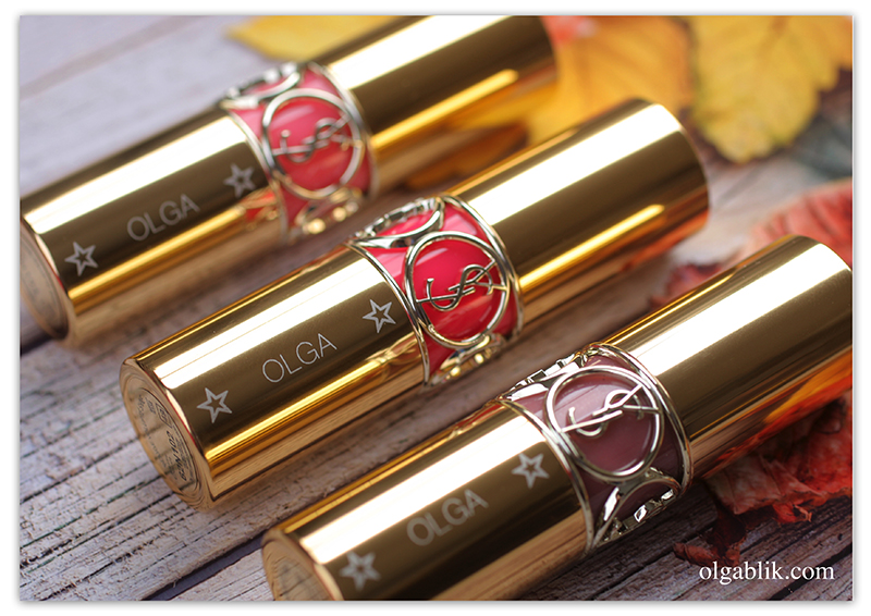 Помады YSL Rouge Volupte Shine Oil-in-Stick Lipstick