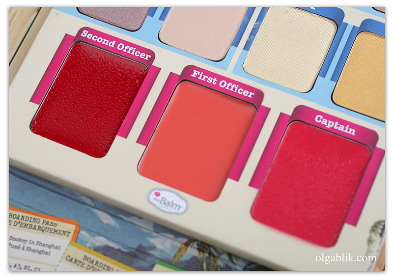 theBalm Balm Voyage! Holiday Face Palette, Отзывы, Review, Photo, Swatches, Фото, Тени для глаз