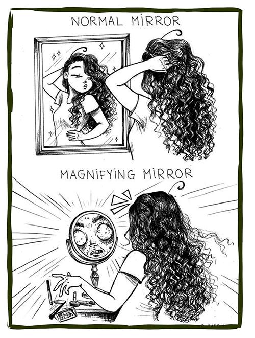 Expectation vs Reality makeup, Реальность и ожидания, Макияж, Фото