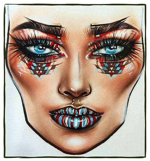 Фейс-чарты для макияжа