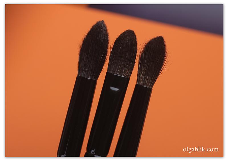 Wayne Goss Brushes, Кисти для макияжа глаз, Отзывы, Фото, Review, Photo, Makeup Brushes