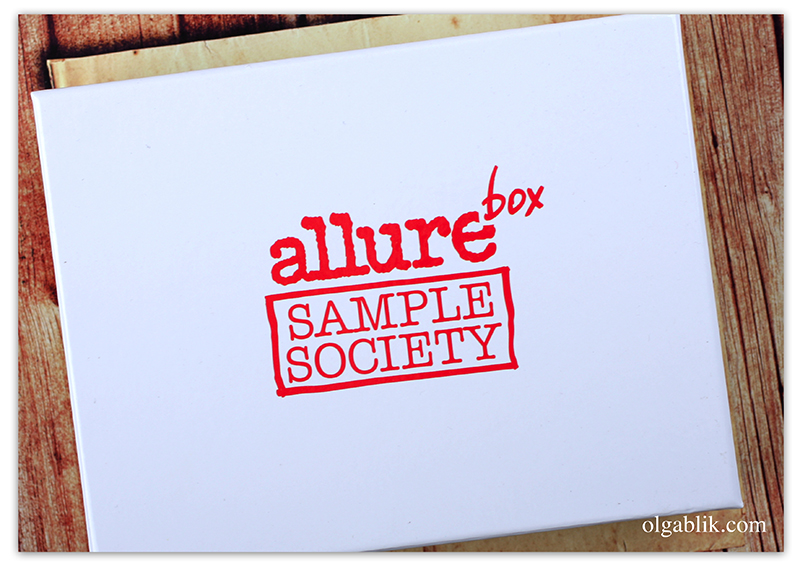 AllureBox, Июнь 2016, Бьюти Бокс, Отзывы, Фото