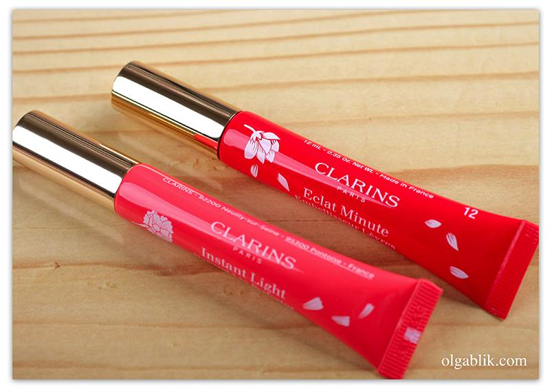 Clarins Instant Light Natural Lip Perfector, Бальзам для губ, Отзывы, Фото