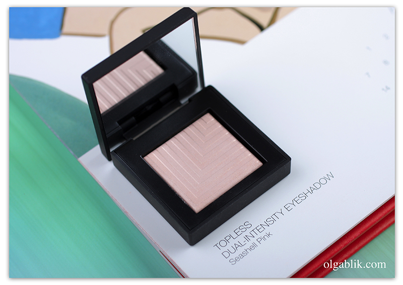 NARS Dual-Intensity Eyeshadow Topless, Review, Photo, Swatches, Отзывы, Фото, Свотчи, Нарс