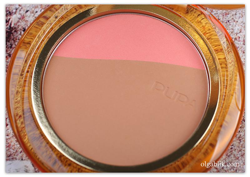 Pupa Bronze Fever Blush & Bronze, Бронзер для лица, Пупа, Отзывы, Фото, Свотчи