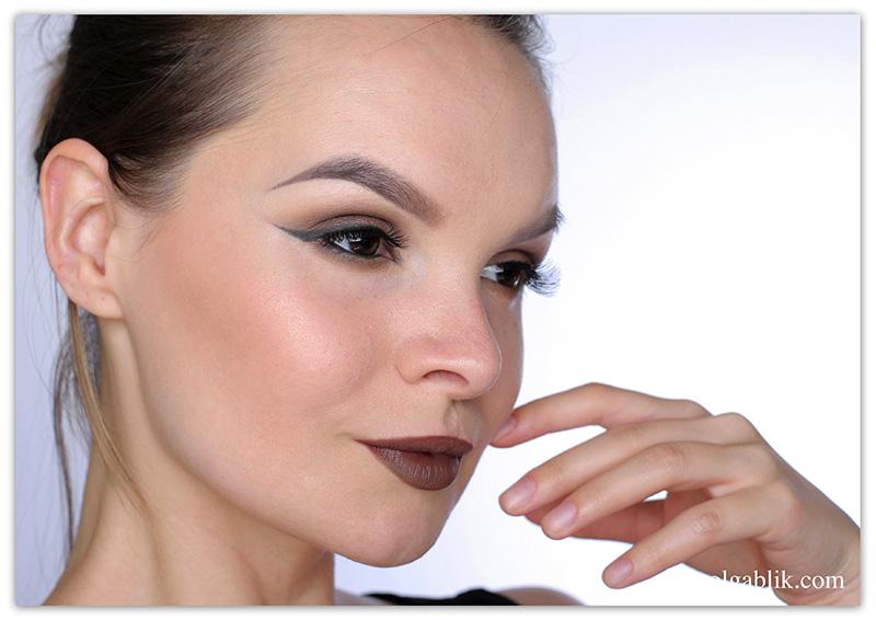NYX Lip Lingerie Liquid Lipstick-Ourson, Жидкая матовая помада, Отзывы, Фото