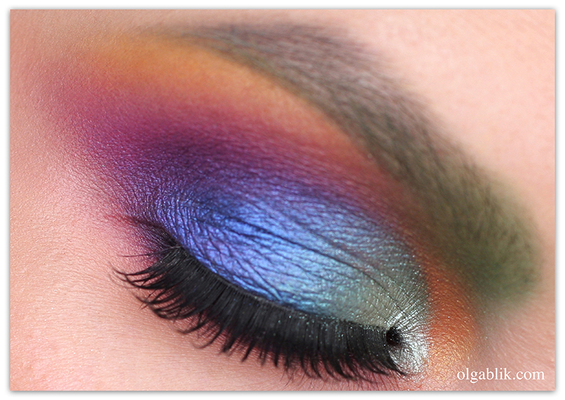 Colorful Makeup Tutorial Idea-1