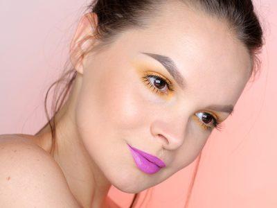 Монохромный макияж глаз: пошагово