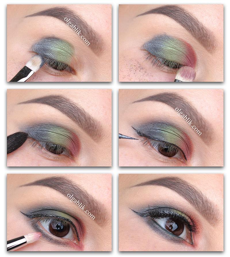 Макияж глаз с минеральными тенями