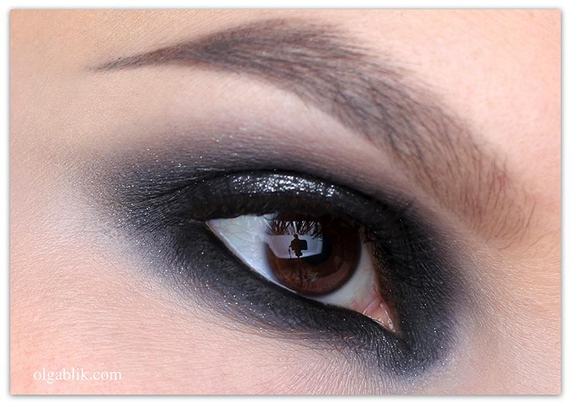 Классический Smokey Eyes