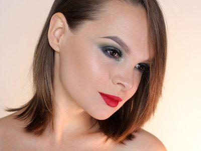 Зеленые Smoky Eyes: пошаговый макияж