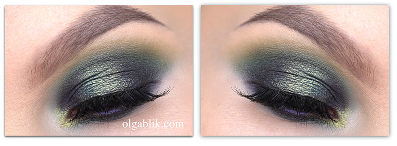 Зеленые Smoky Eyes