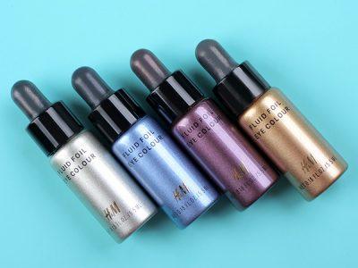 Жидкие тени H&M Fluid Foil Eye Colour: отзывы
