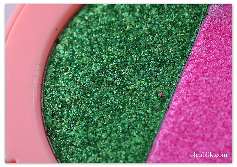 lime-crime-lawn-flamingo-superfoil-eyeshadow-duo, Отзывы, Фото, Свотчи, Review, Photo, Makeup