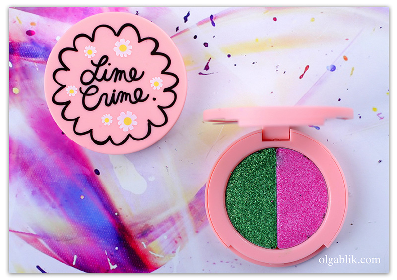 lime-crime-superfoil-eyeshadow-duo, Отзывы, Фото, Свотчи, Review, Photo, Makeup