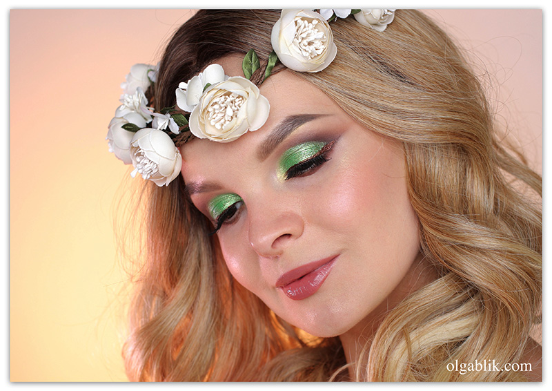 Spring Beauty Makeup Tutorial, весенний макияж, фото урок, пошагово