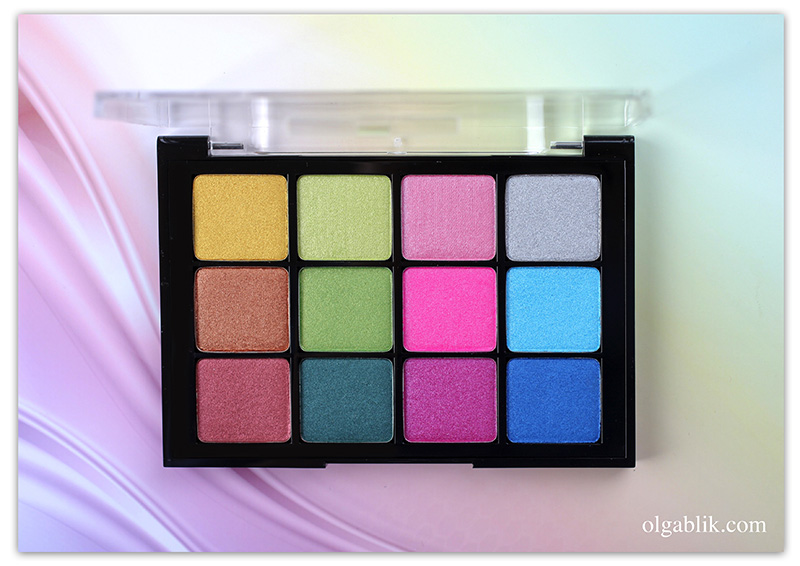 Viseart Boheme Dream Eye Palette 02, Photo, Review, Swatches, Makeup, Отзывы, Фото