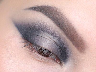 Градиентный макияж глаз: пошаговый