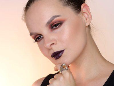 Осеннее омбре: пошаговый макияж глаз