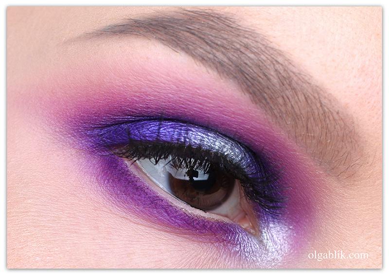 bronx-colors-makeup, цветной макияж глаз, пошаговый фото урок
