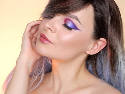 Colorful Ombre Makeup Tutorial: Bronx Colors